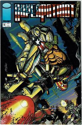 SUPER-PATRIOT (Image Comics) 1 2 3 4 ..LIBERTY & JUSTICE 1 2 3 4 - All Near Mint