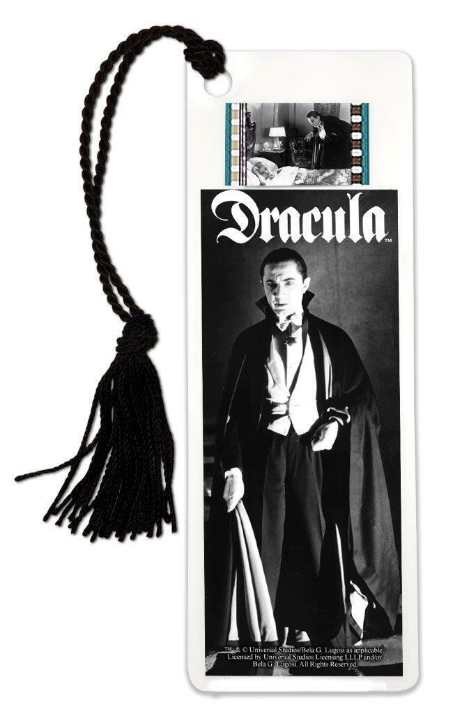 Bela Lugosi As Dracula 35mm Film Cell Bookmark Universal Monsters NEW  - $13.99