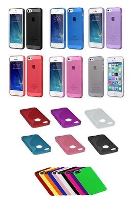 Slim TPU Clear Silicone Gel Rubber Soft Skin Case Cover For iPhone 4/4S ()