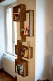 Design vintage shelves