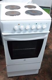Indesit K3E1WG 50cm Freestanding Electric cooker
