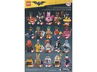 Lego Batman Mini-figures for swap
