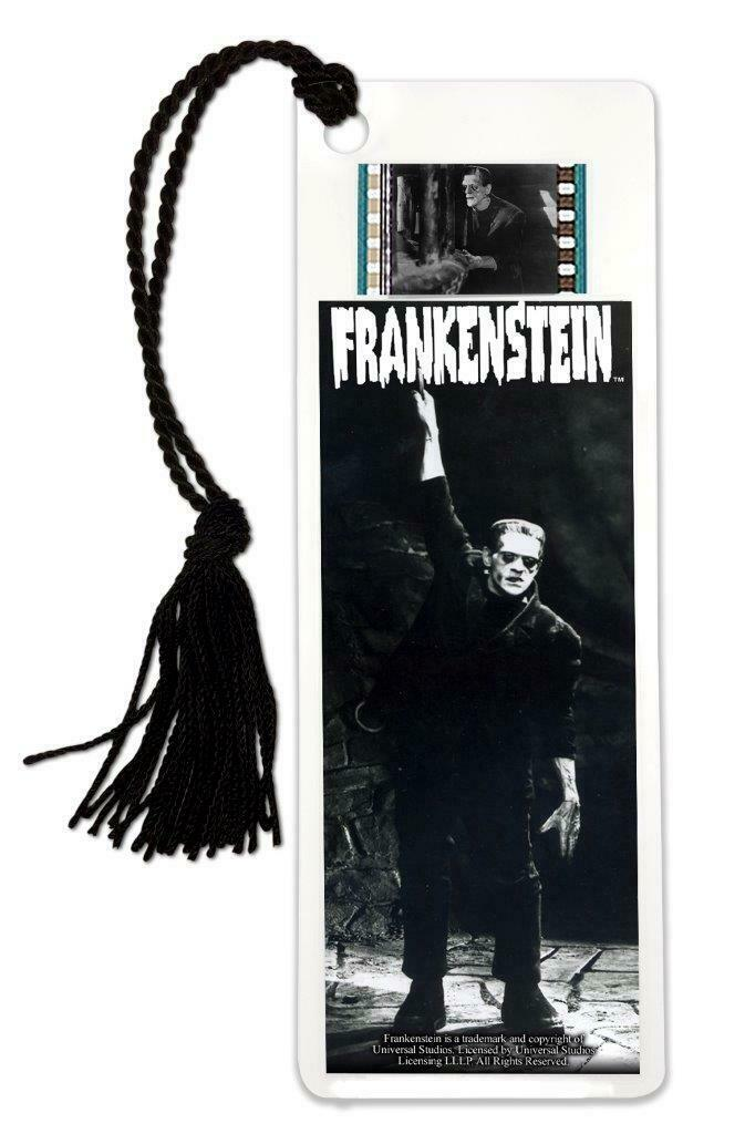 Frankenstein Boris Karloff Original 35mm Film Cell Bookmark Of The Monster  - $13.99