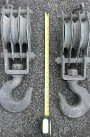 for sale pully blocks