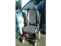 Carony turn-out car disabled wheelchair