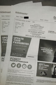 A Perfect Circle Tickets - Stalls Standing - O2 Academy Brixton (13 June 2018)