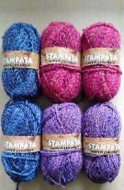 Knitting Wools (600g)
