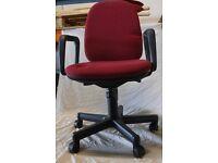Adjustable Typist Chair