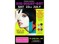 SATURDAY 23rd JULY - 60s 70s SOUL / REGGAE / MOTOWN / SKA with DOUBLE BARREL - City Centre.