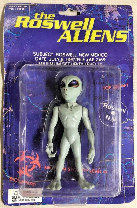 """THE ROSWELL ALIENS TOY 1996 Extra Terrestrial 6""""COLLECTIBLE FIGURE Street Player"""