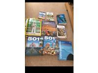 Selection of travel books bundle
