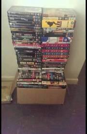 Numerous DVDS