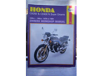 honda cb259-cb400 n superdream 1978 to 1984 owners workshop manual