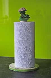 Unusual kitchen roll holder in excellent condition.