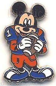 FOOTBALL-PLAYER-Mickey-Mouse-Professions-Set-Disney-Pin-88001