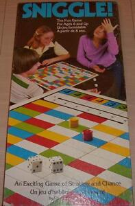Retro SNIGGLE! Board Game *NEAR MINT* *$5*