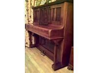 Free upright piano Sames Edwardian deco inlay, arrange your own transport