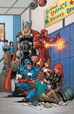 ESZ477. Marvel Comics: AVENGERS ANTI-BULLYING Poster (2015) - Anti Bullying Poster