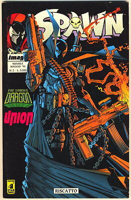 SPAWN 2 IMAGE STAR COMICS 1994 RISCATTO