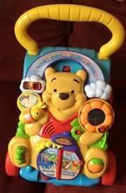 V-tech Winnie the Pooh 2 in 1 activity baby walker