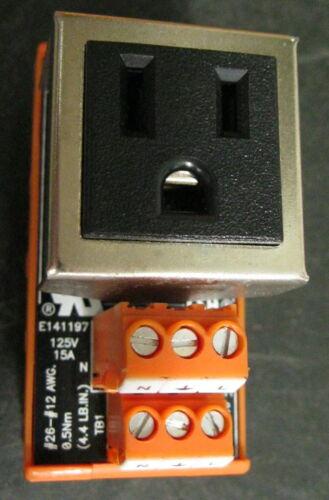Weidmuller 9915480000 Outlet Plug125V 15A