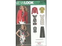 New Look – K6013 Dress, Jacket and Trouser Pattern