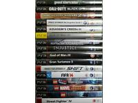Play Station 3 with 16 Games