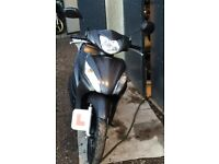Honda Vision 50cc 2 yr old - like new Slate Grey very low miles 1808 suit 16 yr old