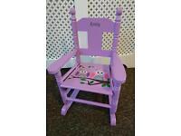 Children's rocking chair seat Emily