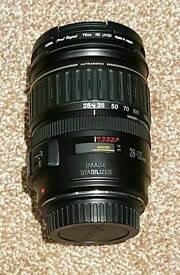 Canon EF 28-135mm f/3.5-5.6 IS USM with hoya digital UV filter