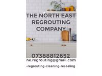 RE GROUTING, TILE REPAIRING, RE SEALING AND GROUT CLEANING SERVICES