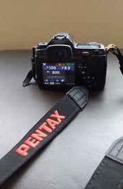 Pentax K7 digital SLR camera