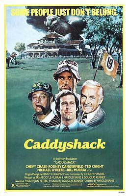 Caddyshack Movie Poster Golf Classic Golfing Poster 24x36