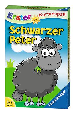 32 Blatt Ravensburger Kinder Erster Kartenspaß Schwarzer Peter Schaf 20432