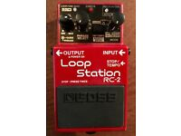 Boss RC2 loop station-faulty