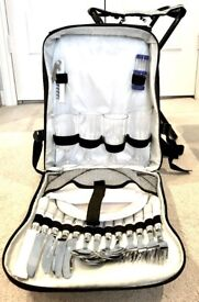 Picnic Backpack Kit (Plates, Cutlery, Napkins, etc. for 4 people)