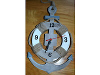 Decorative nautical clock