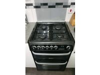 Cannon free standing cooker with double oven and grill