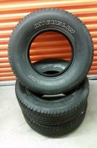 (Y38) 3 Pneus Ete - 3 Summer Tires 265-70-17 Michelin
