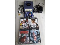Nintendo gamecube complete with all leads, 1 official controller and 4 games - Excellent condition