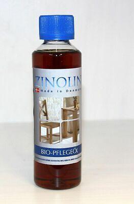 Zinolin Bio-Möbelöl 250ml Möbel-pflegeöl Buche Erle Kirsche Birke Eiche Holz Öl