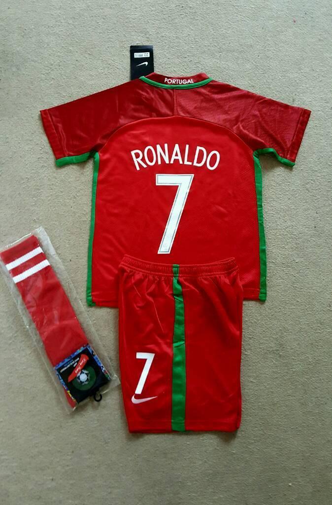 2017 Portugal Football Kit Nike Ronaldo 7 8 Years In