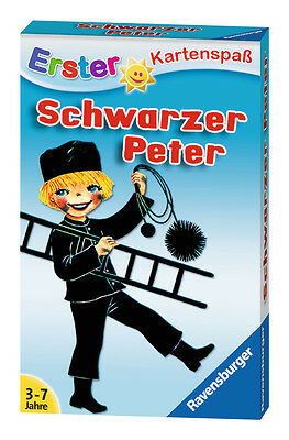 32 Blatt Ravensburger Kinder Erster Kartenspaß Schwarzer Peter Kaminkehrer 20431