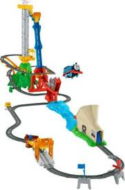 Thomas track master jump over