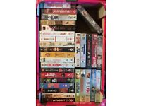 VHS Tapes, over 200 different films, most bought new and only played once or twice. £15 the lot.