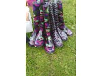 3 pairs of ladies or girls new wellie boots