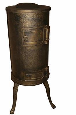 7kW Cast Iron Coal Wood Burner Stove Heater Shed Summerhouse Workshop Garage