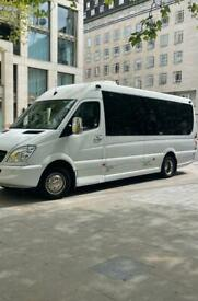 Executive Minibus Hire With Driver