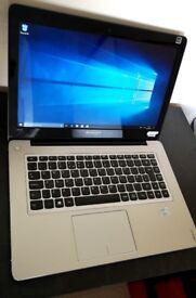 Lenovo IdeaPad U410 Windows 10 laptop + charger