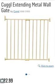 2 extending metal wall fix gates